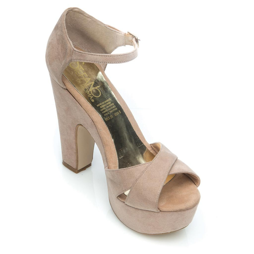 SANDALIAS MAYERLY COLOR  BEIGE 527655