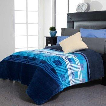 Cobertor Flannel Con Borrega Moderato