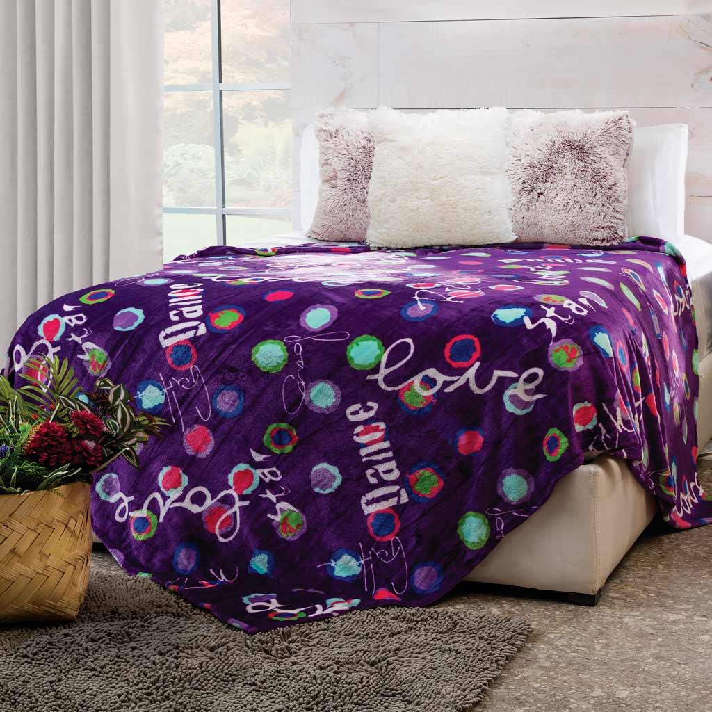 Cobertor Flannel Ligero Star Dance
