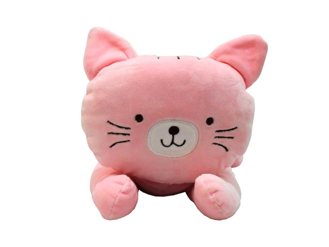 Peluche Figura de Gato color Rosa