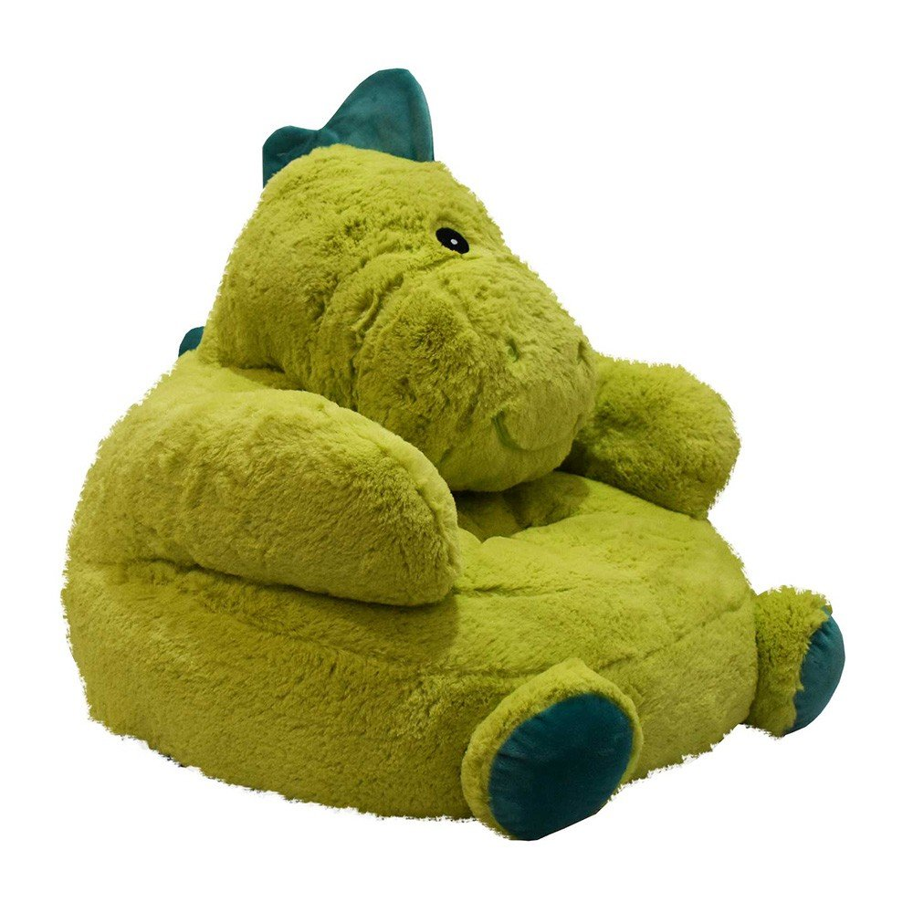 Sillón Dinosaurio de Peluche color Verde