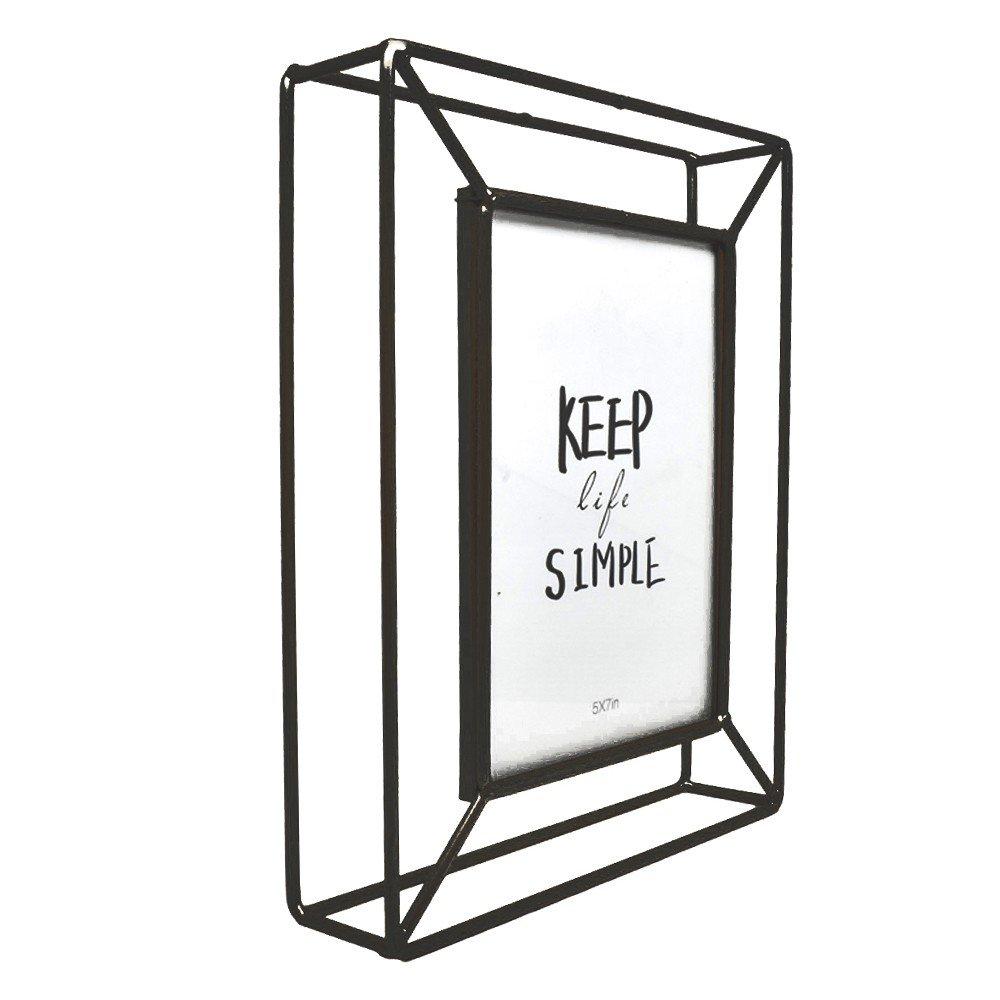 Portarretrato Negro de metal medida 4x6