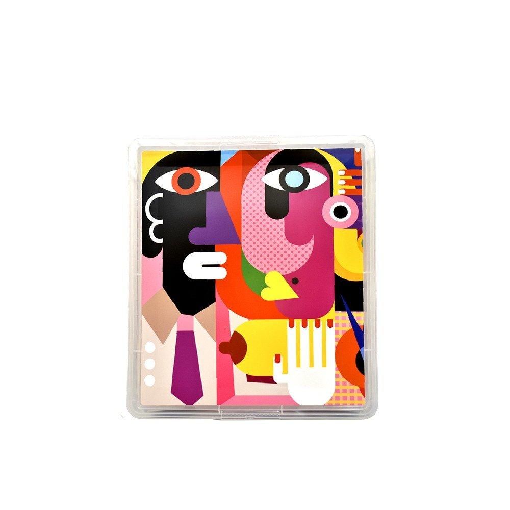 Caja Plástica Organizadora Estampada