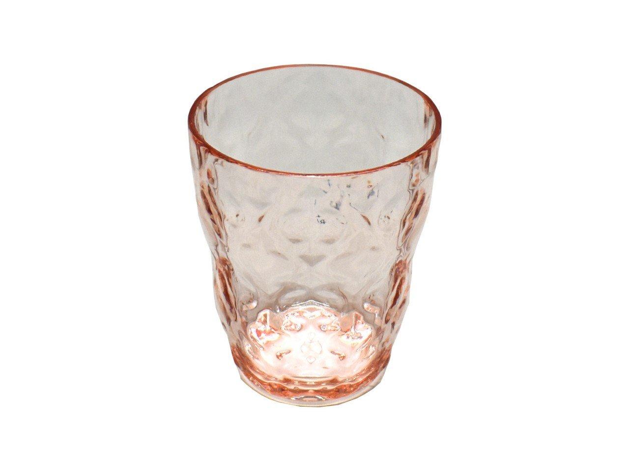 Vaso Old Fashion Damas de Acrílico color rosa