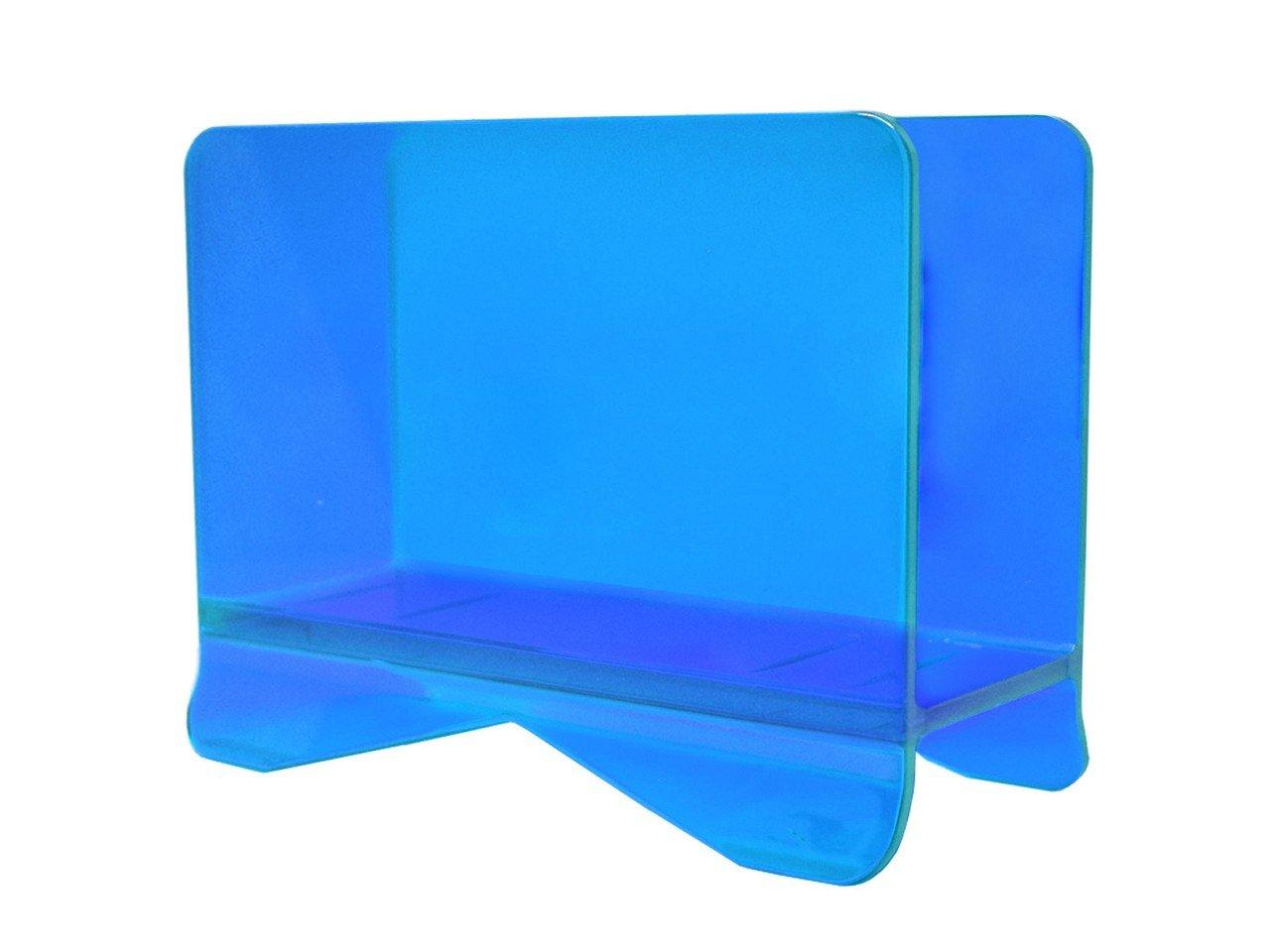 Servilletero Cuadrado  de Acrílico color Azul