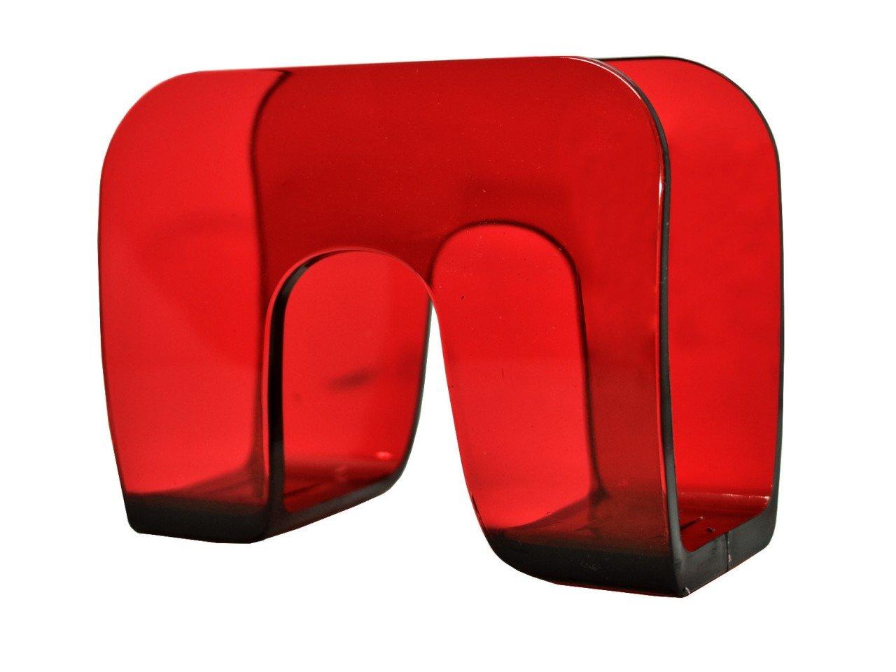 Servilletero de Acrílico color Rojo