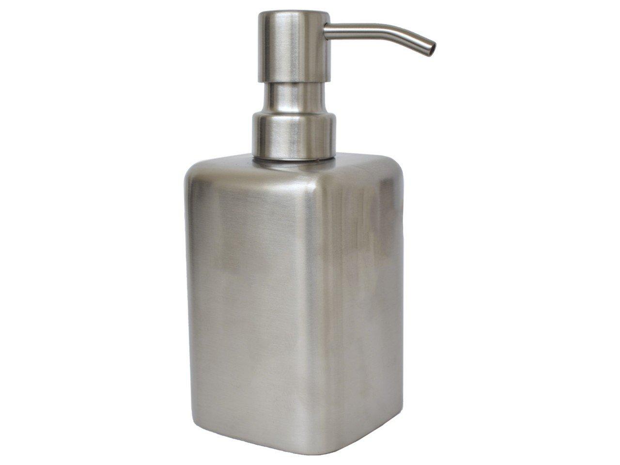 Dispensador para Jabón de Metal cuadrado