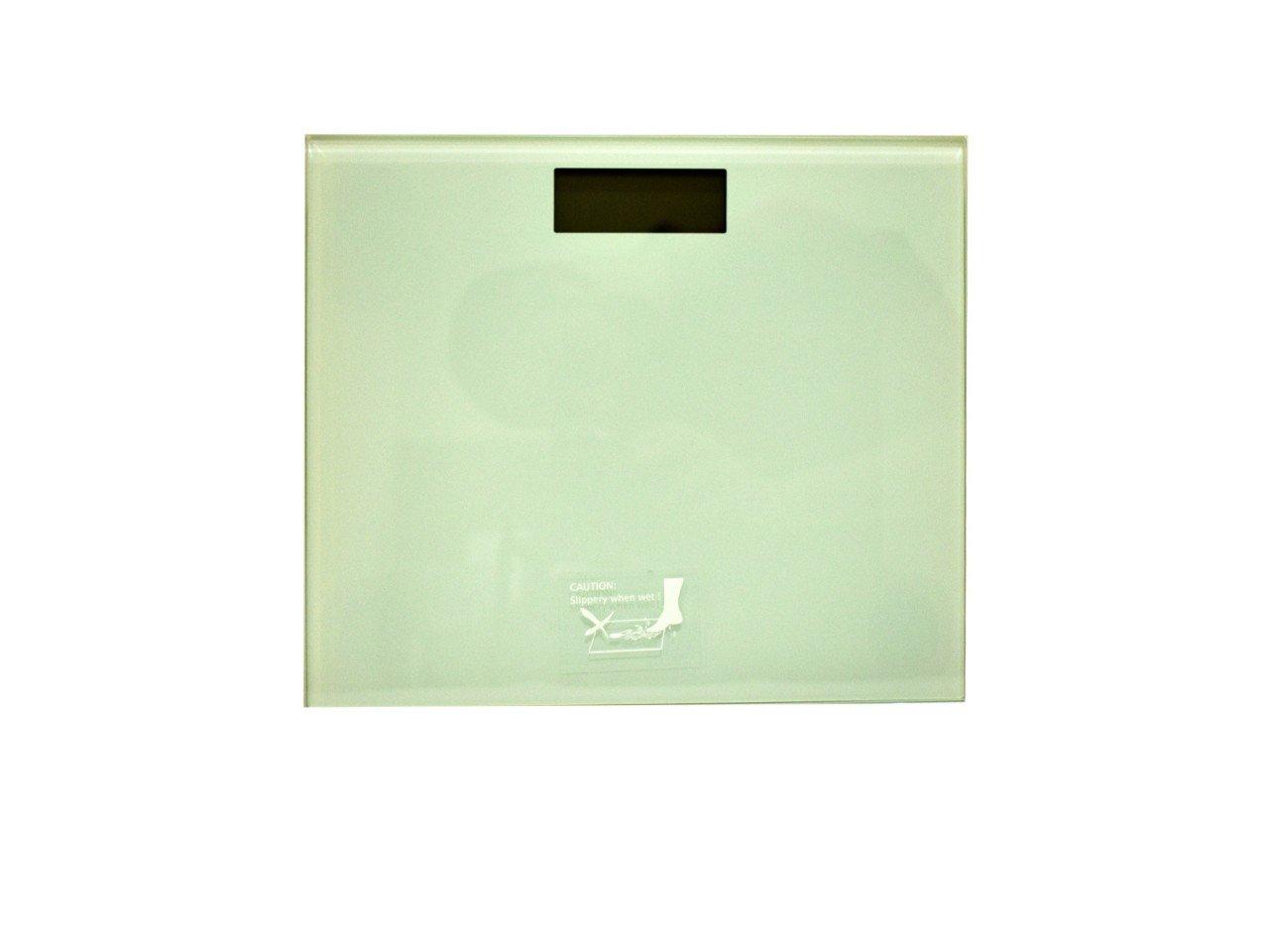 Bascula Digital de Vidrio Estandar color Blanco