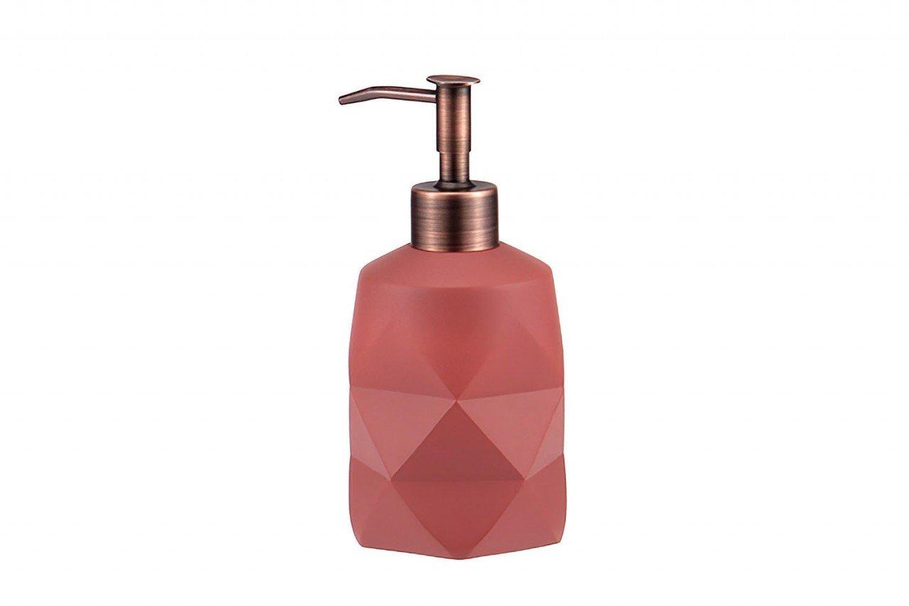 Dispensador de Plástico color vino diseño Prismático