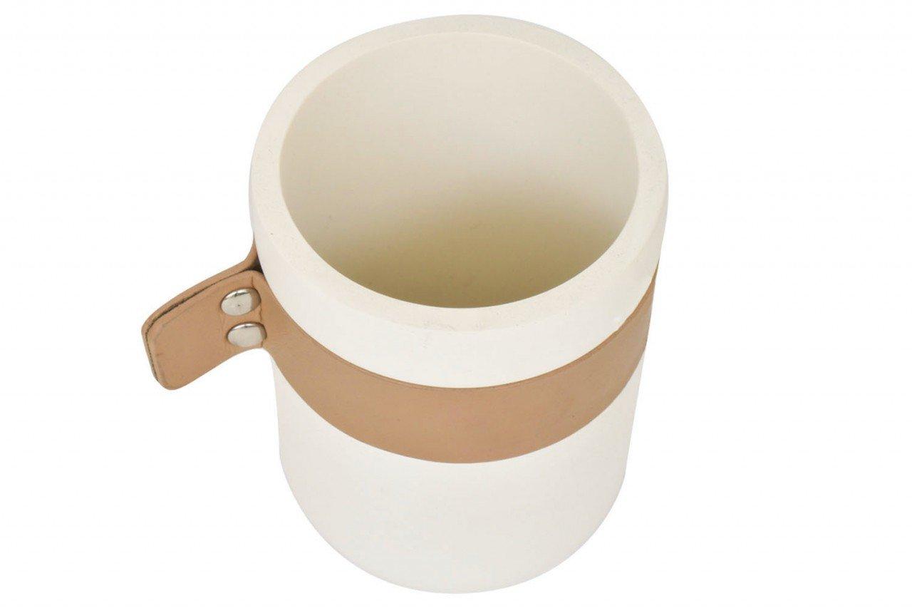 Set de baño de Cerámica en color Blanco