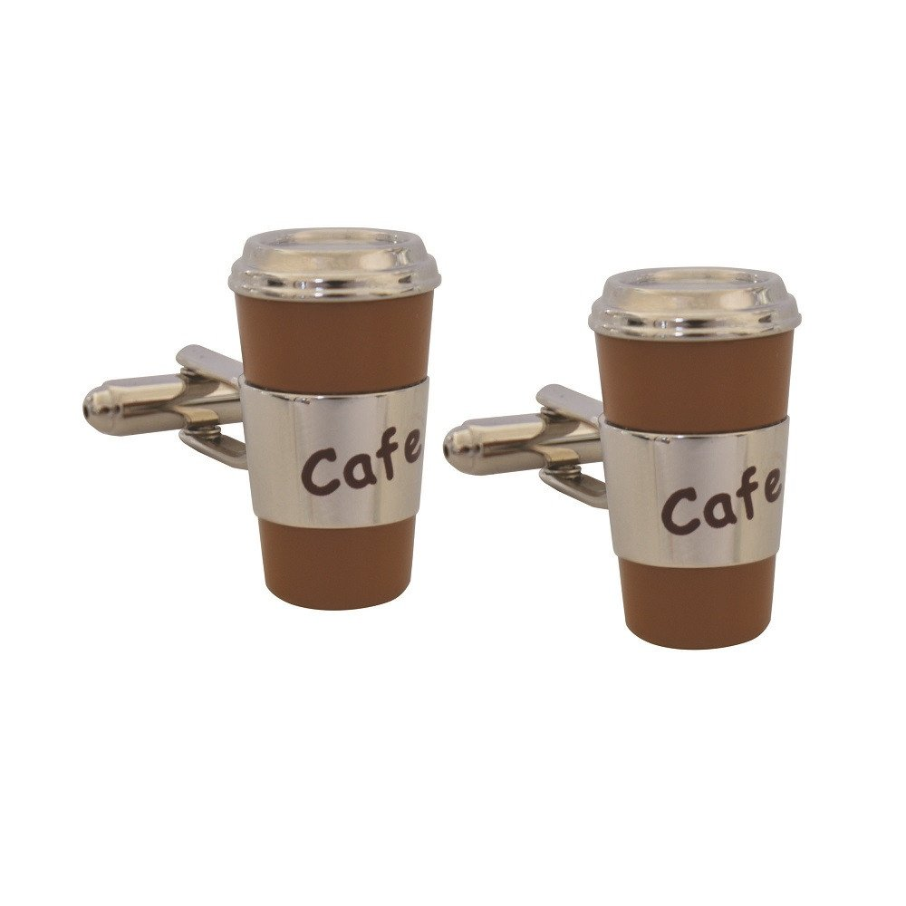 Mancuernillas Cup Coffee