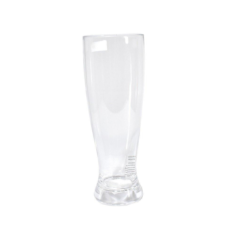 Vaso para cerveza de Acrílico Transparente