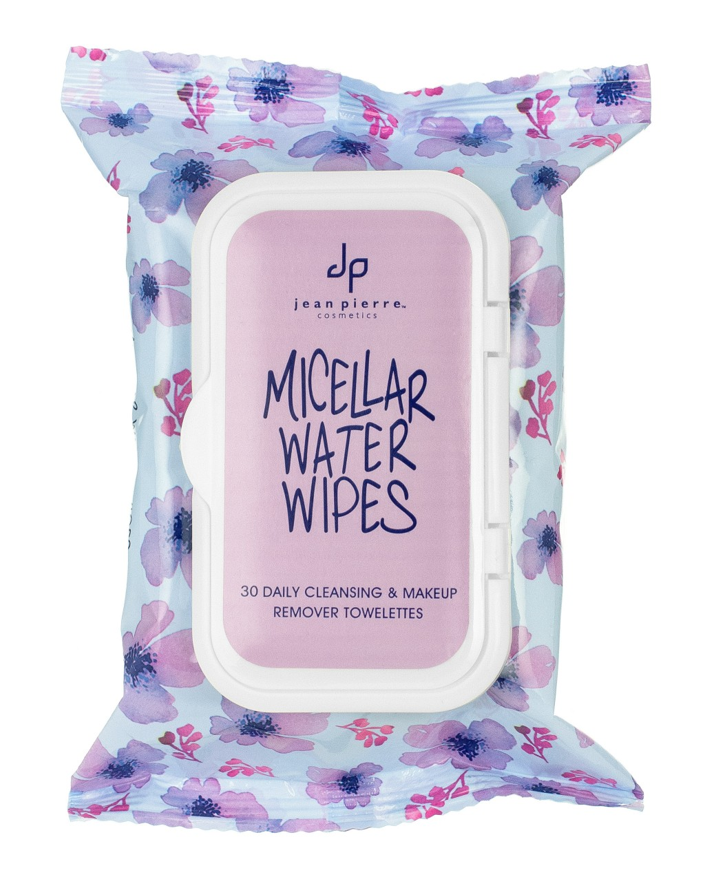 Toallitas faciales de uso diario con agua micelar