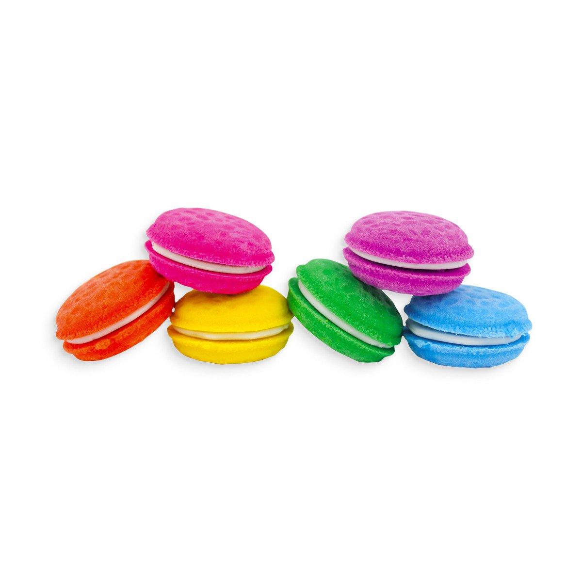 Set de gomas en forma de macarons