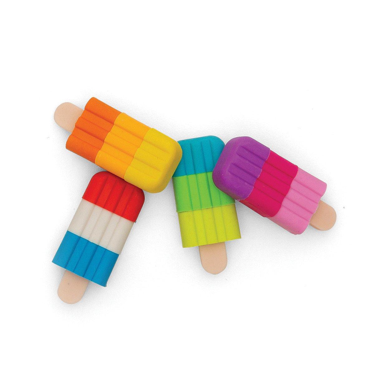 Set de gomas en forma de paleta