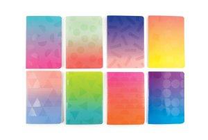 Libretas de bolsillo, colores