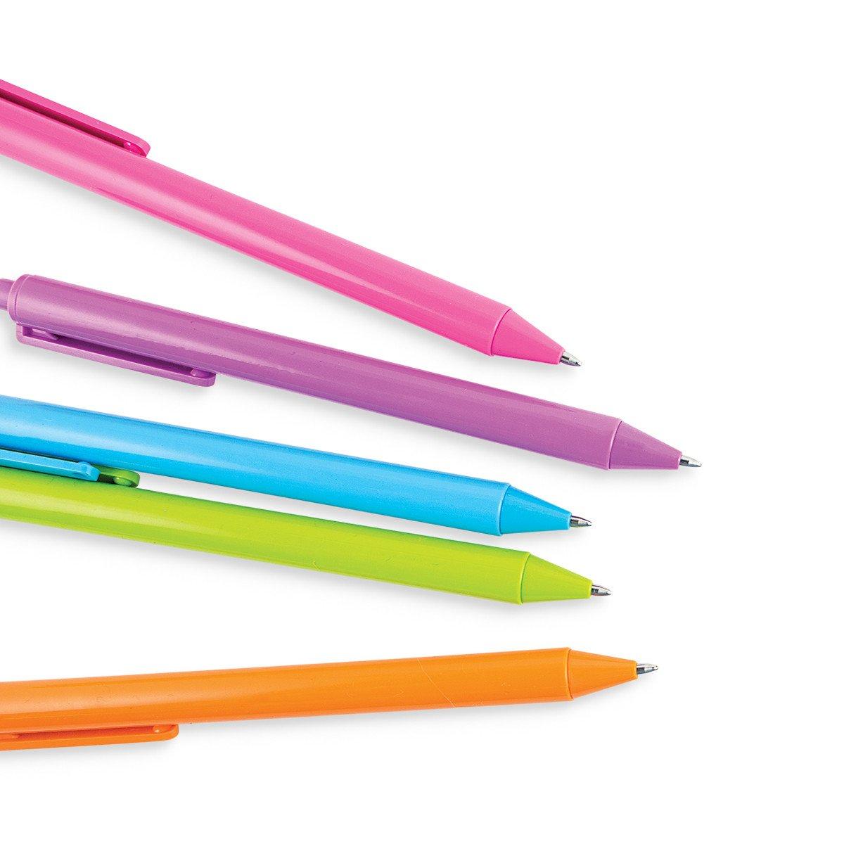Set de 10 plumas de colores