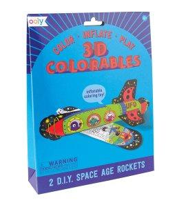 3D Coloreable, cohetes