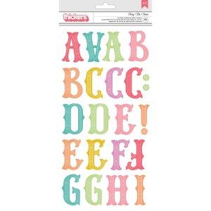 Calcomanías abecedario de colores