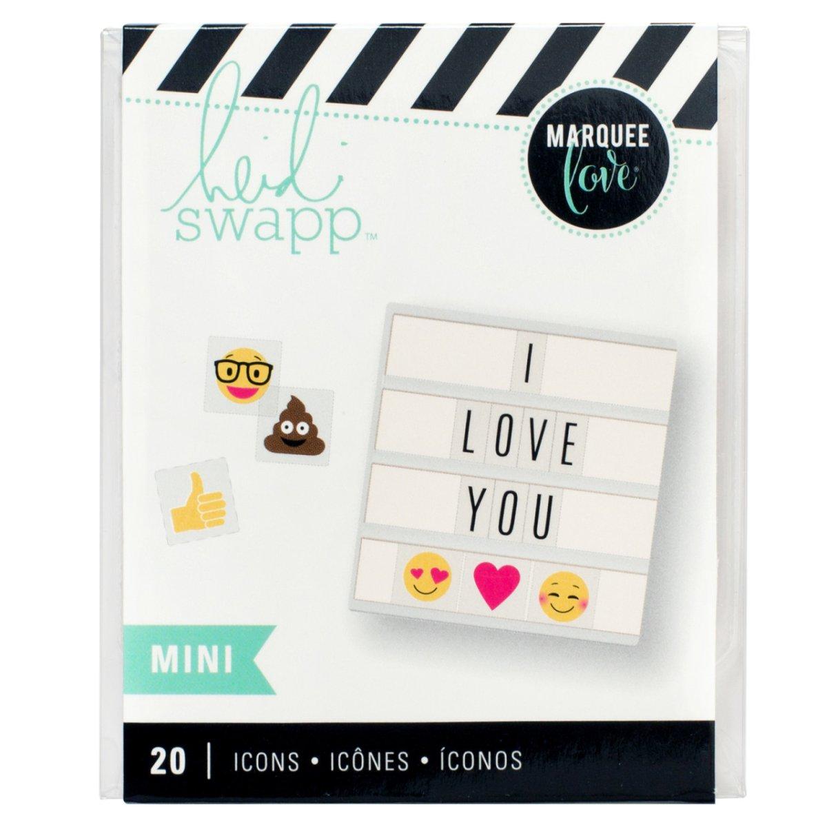 Mini iconos, 20 pzs