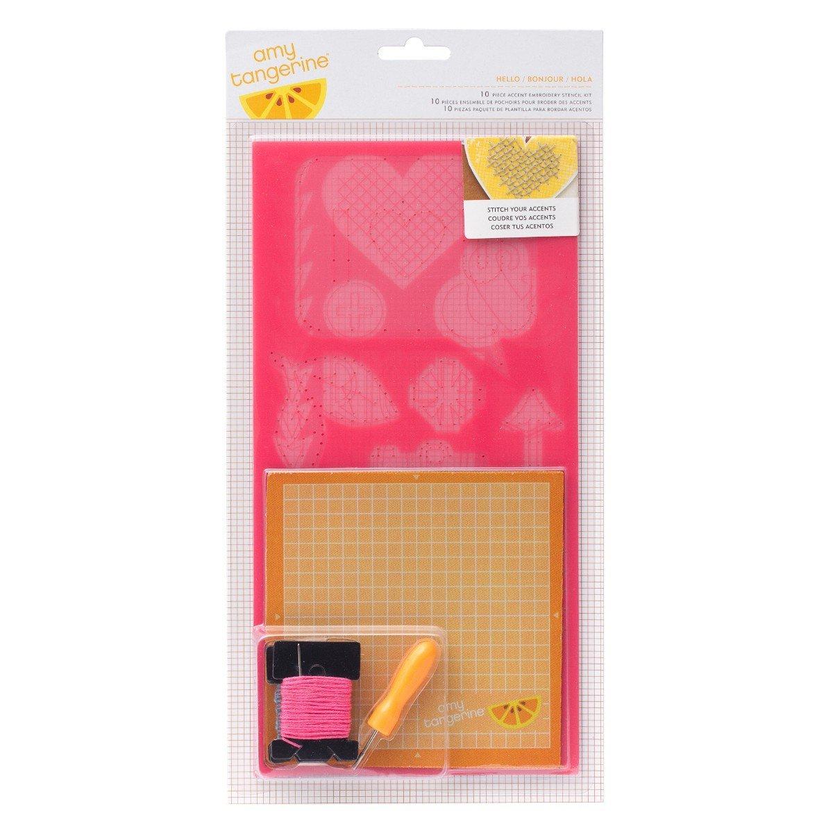 Kit de plantillas para coser formas