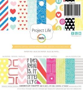 Block de hojas de papel con 18 diseños,