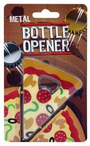 Destapador, diseño de pizza