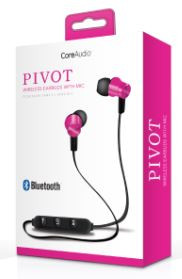 Audífonos inalámbricos con mic, rosa