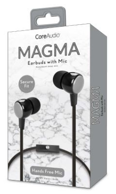 Audífonos con micrófono, perfect fit, plata