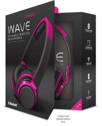 Audífonos inalámbricos con terminado mate, rosa