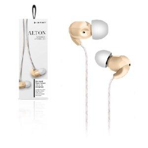 Audífonos con micrófono, blancos