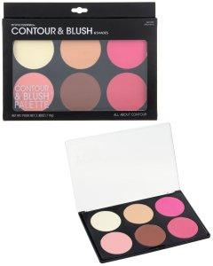 Paleta para contouring y blush, jumbo