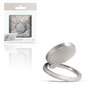 Ring holder para celular, plata