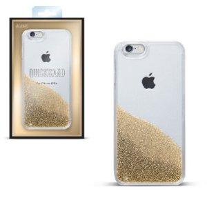 Funda para celular con arena, color champán, iP7