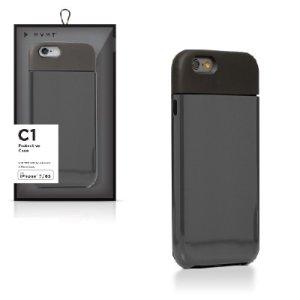 Funda para celular negra, 2 pzas, iPhone 7