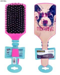Cepillo cuadrado con diseño