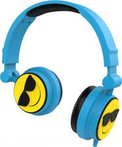 Audífonos Emoji, azul