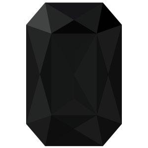 Vinil autoadherible para pared, diamante negro, 1 pz
