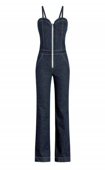 taylor hill x joe's | zip front jumpsuit