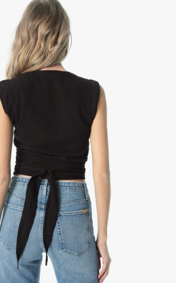 luliana wrap blouse