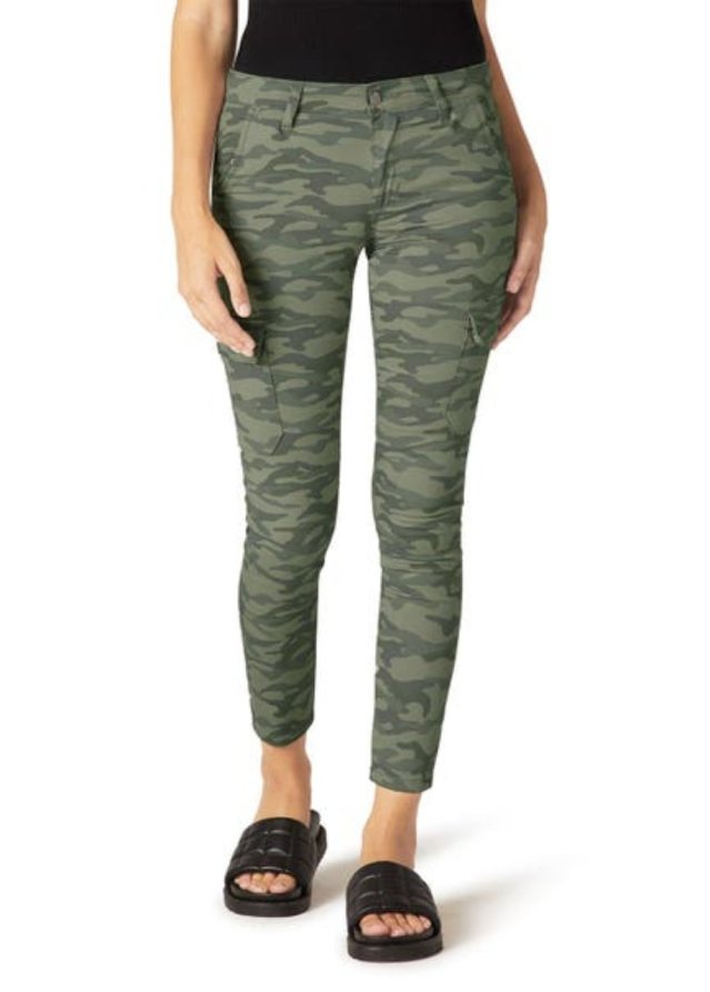 MID RISE UTILITY SKINNY ANKLE
