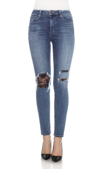 the charlie skinny high rise skinny br