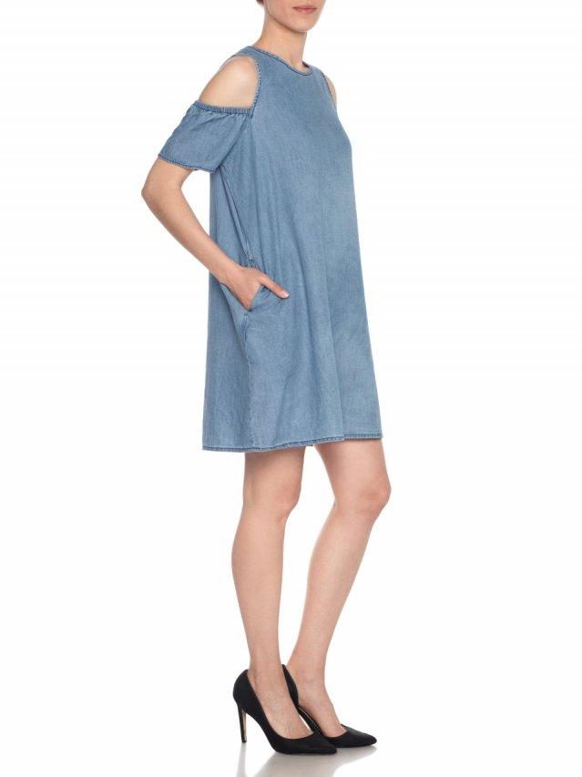 a line off shoulder dress