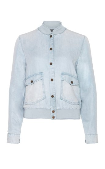 briggite denim bomber denim