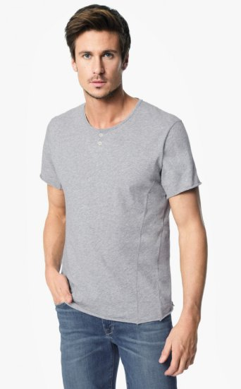 engineered henley tee