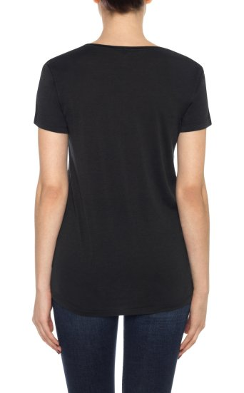 kelsie tee silk cotton jersey