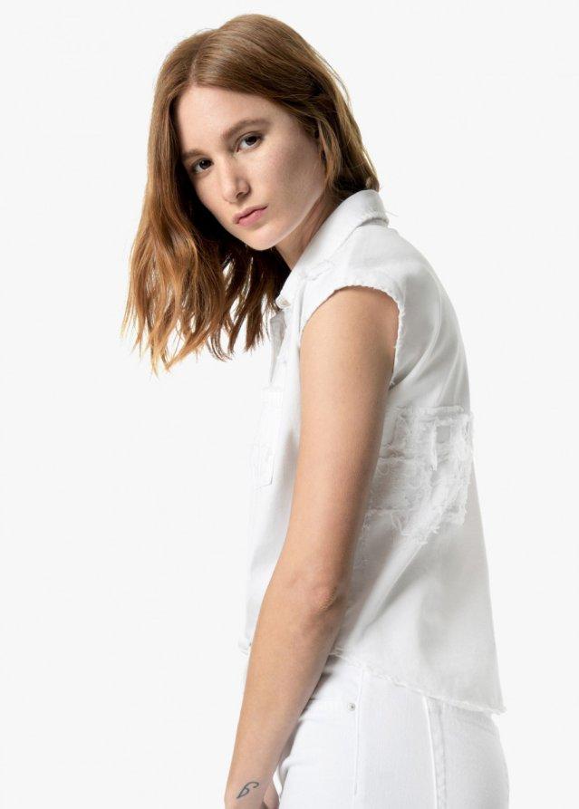 vivian tie front shirt