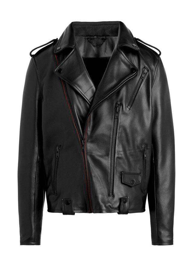 leather moto jacket