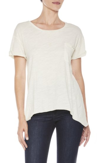 andrea tee lightweight cotton slub jerse