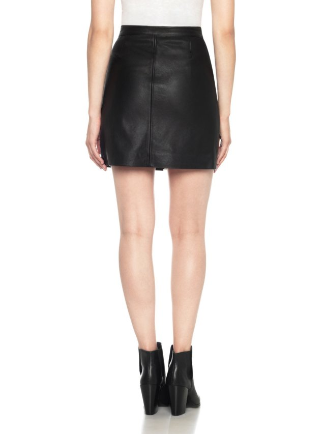 ruby skirt studded leather